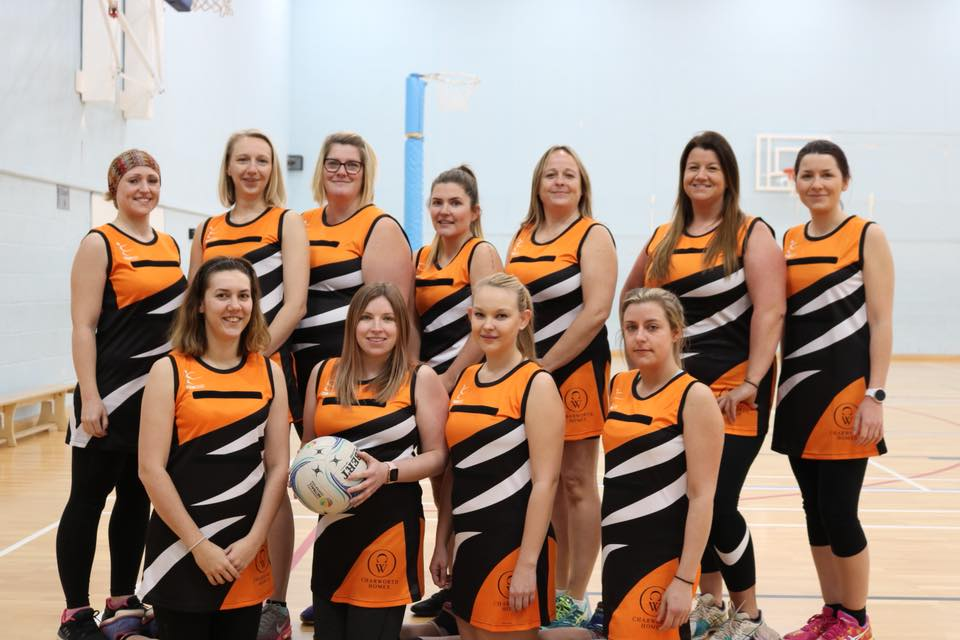 community support for scunthorpe wyldcats netball team